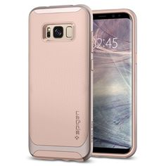 From Samsung Galaxy Case Spigen [neo Hybrid] Galaxy Case Cover With Flexible Inner Protection And Reinforced Hard Bumper Frame For Galaxy - Pale Dogwood- Claires Phone Cases, Other Accessories, Phone Accessories, Pale Dogwood, Galaxy S8, Samsung Galaxy, S8 Plus, Coral Blue, Chromebook