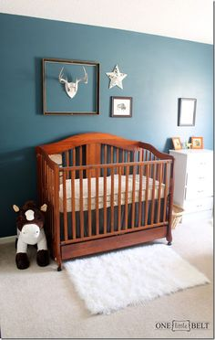ONE little MOMMA: Baby Boy's Western and Rustic Nusery- REVEAL