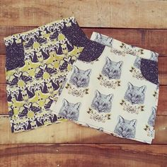 @cottontail.nz - Skirts all done and ready for two sisters.  What do you think of this fabric.....would you like to see more of it?