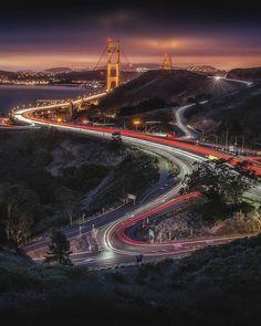 Golden Gate by 831GabeRodriguez #sanfrancisco #sf #bayarea #alwayssf #goldengatebridge #goldengate #alcatraz #california