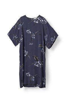 Akina Crepe Dress, Iris Orchid