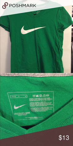 Green Nike workout shirt size M Accepting offers!!!  Green Nike workout shirt size M Nike Tops Tees - Short Sleeve