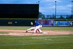 Bittner making the snag-scoop at Dow Diamond