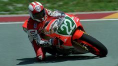 Luca Cadalora Yamaha YZR 250 in 1987 Team mate of him was the german Martin Wimmer