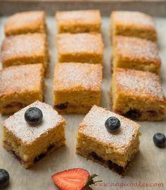 Citrónový ovocný koláč | Angie