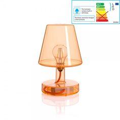 Fatboy Transloetje - Tischleuchte LED Orange : Transloetje - Tischleuchte LED Orange der Marke Fatboy bequem online kaufen bei IchLiebeDesign.de. Sichere Zahlung, Schnelle Lieferung!