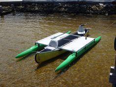 16 ft. outrigger kit on a 15 year old canoe. #boatonlakehouseboats #canoeoutriggerdiy #canoeupgrades
