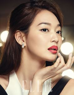 O Hui Muse Shin Min Ah Whips Up Several Looks For Elle Korea | Couch Kimchi