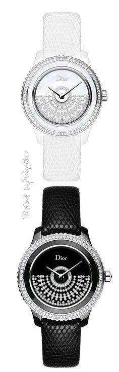 1e785746c2a Diamond Watches Ideas   Dior Black and White diamond watches
