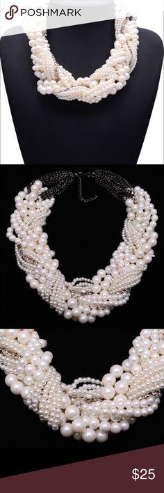 New Beautiful Statement Pearl Necklace Beautiful Brand New Dallas Stylez Jewelry Necklaces