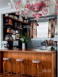 The charm of a vintage kitchen. #charm #kitchen #interior #design #decor #casadevalentina