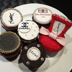 luxury-inspired cupcakes