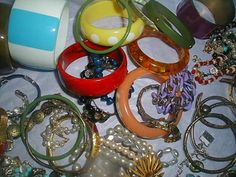 Huge Vintage Now 400+pc Jewelry Resale Collection Lot Juliana Bakelite Caviness Sterling Signed Rare