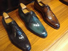 Berlutti shoes, the ultimate luxury.