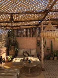 Outdoor Rooms, Outdoor Living, Outdoor Decor, Sweet Home, Terrace Design, Marrakesh, Exterior Design, New Homes, Home And Garden