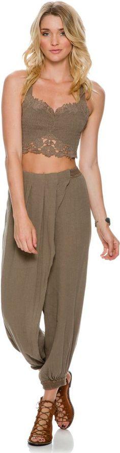 @roressclothes clothing ideas #women fashion Free People Doo Be Doo Smocked Set.