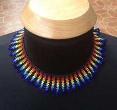 Collier de perles de Saraguro main par LaBellezaSaraguro sur Etsy