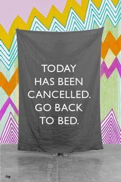 CancelingTheDay