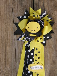 bee baby showerbee mumbee theme party by bonbow on Etsy, $14.99