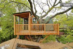 Romantic Garden Treehouse in Schaumburg https://www.airbnb.com/rooms/440817