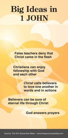 1 John | Illustrated Online Bible Study
