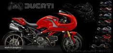monster cafe racer - Buscar con Google