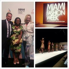 AnkaraMiami Founder/CEO, @EvelynO11 pictured w/ @MiamiFashionWk producers, #AaronPerry & #BethSobol. Thank you for the invite & congrats on another successful run! See you next year! cc: @MiamiFashionWeek #MFW2013 #miamifashionweek