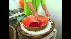 Proceso elaboracion de helados de paila