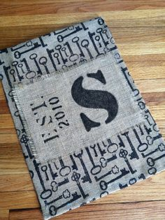 Garden Flag Personalized Burlap Garden by FromTheCoast2TheCity, $22.00