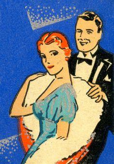 Matchbooks Advertised Naughty Nightclub Fun I Vintage Comics, Vintage Ads, Vintage Romance, Etching Prints, Matchbox Art, Retro Advertising, Vintage Girls, Night Club, 1930s