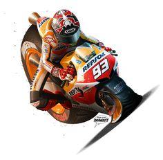 MotoGP cartoons... That's what it feels like when you brake hard... :-)