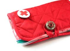 Potholder First Aid Kit girl scouts