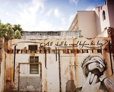 Inspired by Lady Justice, this beautiful piece by was seen on the streets of Johannesburg, South Africa. The imagery and bold words speak loudly Urban Street Art, Old Street, South African Design, Lady Justice, Street Artists, Graffiti Art, African Art, Art Google, Travel Inspiration