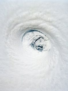 Hurricane photos by NASA - the consequences of hurricanes are devastating, but if you try to look at the images for what they are, I find them extremely fascinating Severe Weather, Extreme Weather, Tornados, Natural Phenomena, Natural Disasters, Mother Earth, Mother Nature, Wild Weather, Eye Of The Storm