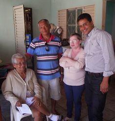 Risomar participou do encontro de amigos na Samambaia Sul ~ Aconteceu Virou Notícia