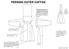 Persian Outer Caftan    Link to Main Site: http://home.earthlink.net/~lilinah/Rashid/Rashid0.html