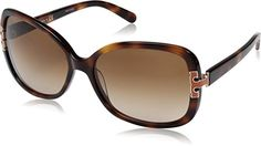 Womens Sunglasses |  Tory Burch TY7022 936 13 Amber Tortoise  Brown Gradient Sunglasses ** Check out this great product.-It is an affiliate link to Amazon. #WomensSunglasses