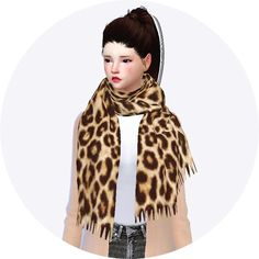 Sims 4 CC's - The Best: Scarf by Sims 4 Marigold
