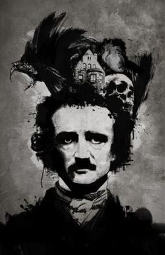 edgar allan poe, Edgar Allen Poe and kelvarkvlt image on We Heart It Allan Poe, Edgar Allan, Larp, Poe Quotes, Dark Quotes, Greek Quotes, Quoth The Raven, Greatest Mysteries, Arte Horror