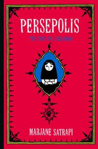 Graphic novel title for my future classroom. Marjane Satrapi tells the story of her childhood up to her early adult years in Iran during and after the Islamic revolution. Good Books, Books To Read, My Books, This Is A Book, The Book, Persepolis Book, Black And White Comics, Black White, Book Week