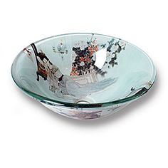 @Overstock - With this Xiu modern vessel sink, your bathroom decor will splash with color and intrigue. Featuring an Asian pattern, this tempered glass bathroom sink is an ideal home improvement update.http://www.overstock.com/Home-Garden/Xiu-Modern-Tempered-Glass-Vessel-Bathroom-Sink/5698582/product.html?CID=214117 $86.09