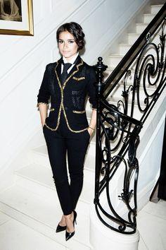 Mira Duma Staircase Glamour!