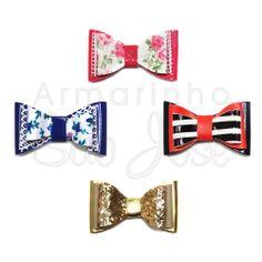 Lacinho para aplicações em chinelos, sandálias, havaianas, gravatas para PET, laços para cabelo, presilhas e muito mais.