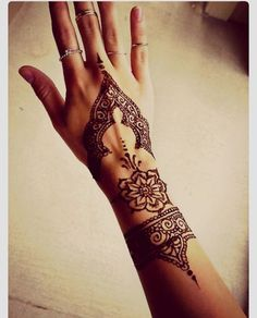 Henna designs. Great for a  bridesmaids