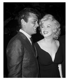 Tony Curtis and Marilyn Monroe - Frank Worth Photography