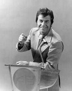 1973 - Dick Clark and the American Bandstand a Saturday tradition in the 70s