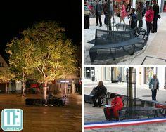 Thierry Farizon | Viadeo circular bench Ville de Chartres