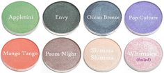 nightflyyy beauty: Makeup Geek (vs MAC) Eyeshadows