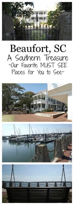 Beaufort, SC is A Southern Treasure. Find out where the locals go for fun and great food. You'll love these recommendations for an area resident.