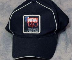 NRA National Rifle Association Black Velcro Trucker Baseball Hat Cap Freedom #HitWear #Adjustable